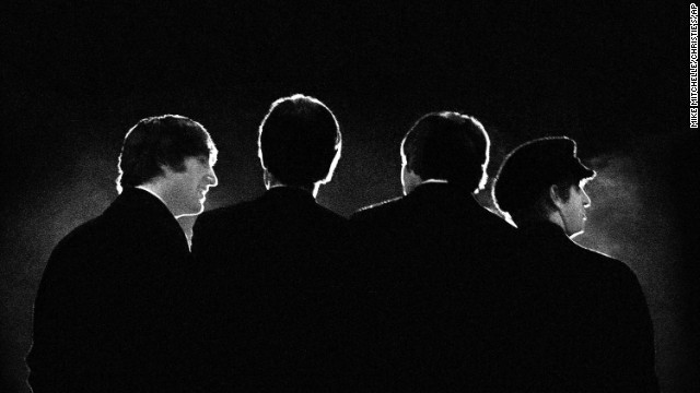 "The Beatles arrived in the United States 50 years ago and embarked on a history-making path of pop culture dominance. Check out coverage of ""The Sixties: The British Invasion,"" a look at how the Fab Four's influence persists. Click through the gallery for more images of the Beatles' first American tour."