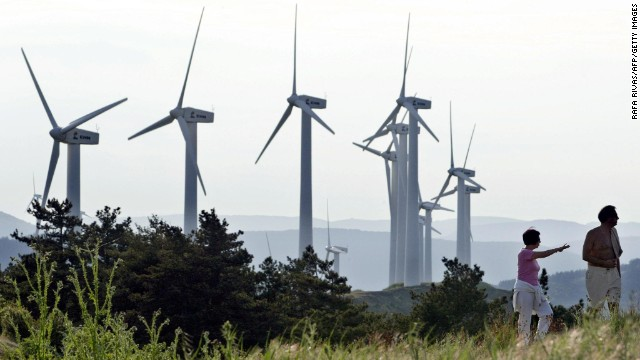 España, primer país donde la energía eólica es la mayor fuente de electricidad