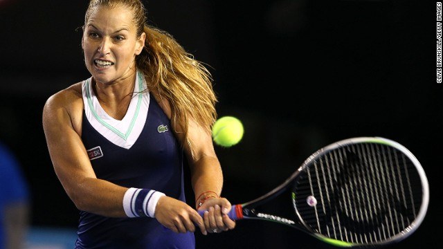 Cibulkova was seeded 20th in Melbourne Park and downed a number of higher seeds to reach the final. The most notable victory came against no. 3 seed Maria Sharapova in the fourth round.