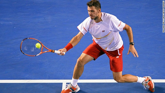 With a break secured, Wawrinka went on to assume full control of the first set eventually winning it 6-3.
