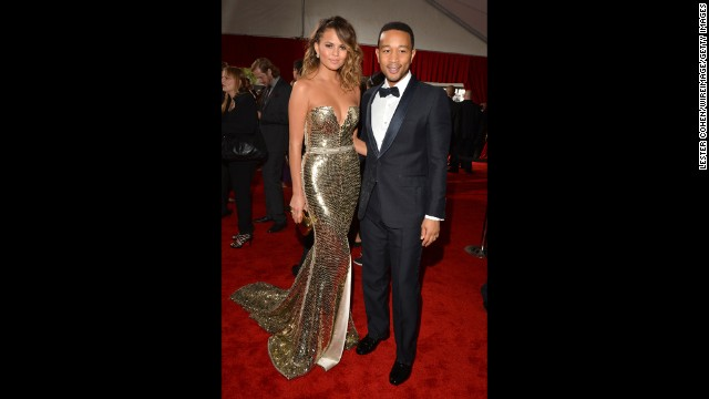John Legend and his wife, Chrissy Teigen