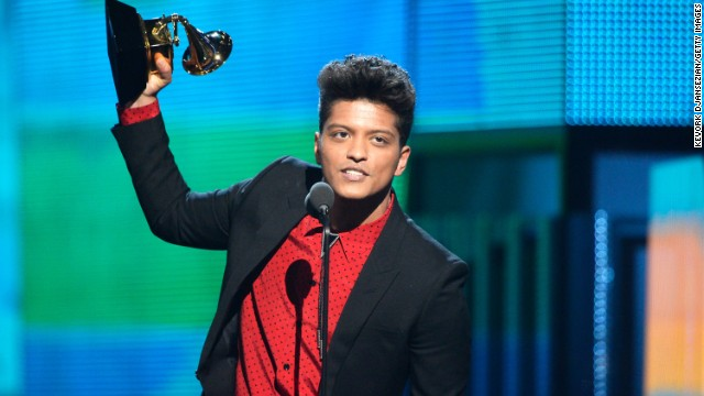 "Best pop vocal album: ""Unorthodox Jukebox"" by Bruno Mars"