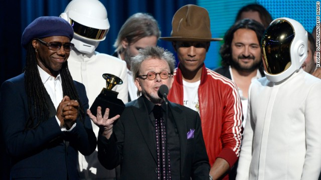 "<strong>Album of the year:</strong> ""Random Access Memories"" by Daft Punk. It also won best dance/electronica album."
