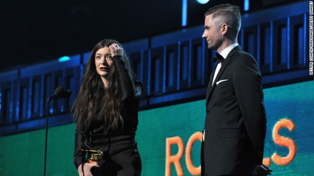 "Song of the year: ""Royals"" by Lorde. The song also won best pop solo performance."