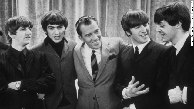 "On February 9, 1964, <a href='http://www.cnn.com/2014/01/30/showbiz/beatles-ed-sullivan-beatlemania-5-things/index.html'>the Beatles made their U.S. debut on ""The Ed Sullivan Show,""</a> kicking off the American strain of ""Beatlemania"" -- a fever that had already infected their native Britain. The show remains one of the highest-rated entertainment programs of all time."