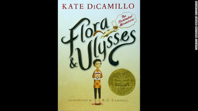 """Flora & Ulysses: The Illuminated Adventures,"" written by Kate DiCamillo, is the 2014 Newbery Medal winner. Click through our gallery to see the rest of the American Library Association's Youth Media Award winners for children's and young adult literature."