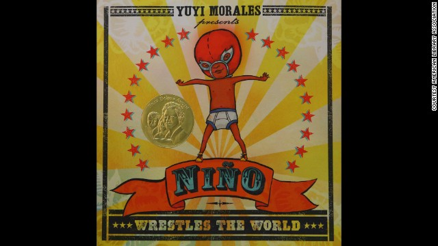 """Niño Wrestles the World,"" illustrated and written by Yuyi Morales, is the Pura Belpré illustrator award winner."