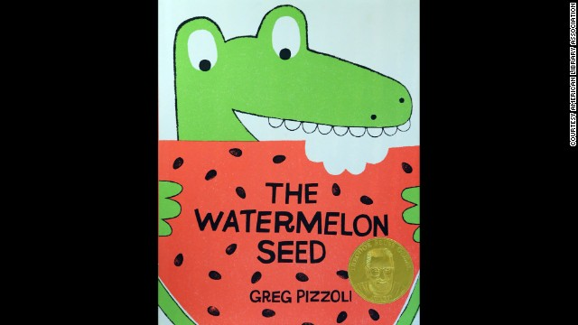 """The Watermelon Seed,"" written and illustrated by Greg Pizzoli, is the Theodor S. Geisel Award winner."