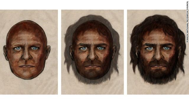 Los europeos de hace 7.000 años tenían piel oscura y ojos azules