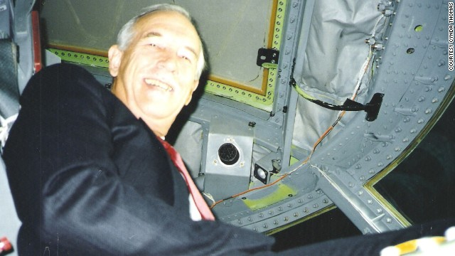 "When Thomas climbed back into the cockpit, ""he said something like, 'I never thought I'd see the old girl again,'"" recalled his widow, Cynda Thomas, who recounted her husband's exploits in her book, ""Hell of a Ride."" Richard Thomas died in 2006 after battling Parkinson's disease."