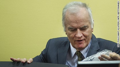 Mass grave clue in Ratko Mladic case