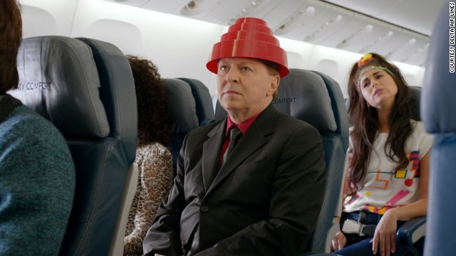 Hints of the 1980s abound, including Gerald Casale from Devo, in Delta Air Line's newest safety video.