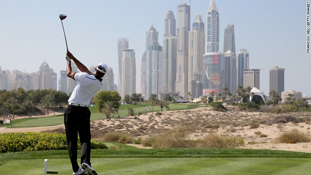 25 years of the Dubai Desert Classic golf tournament