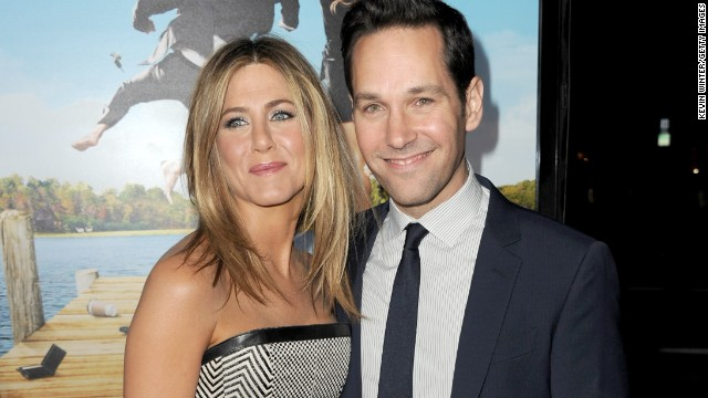 "Jennifer Aniston's friendship with Courteney Cox gets all the attention, but she's just as cool with Paul Rudd. The two met as budding thespians in Los Angeles and then got to know each other better with 1998's ""The Object of My Affection."" By the time they got around to co-starring together again in 2012's ""Wanderlust,"" Aniston and Rudd could call each other old friends."