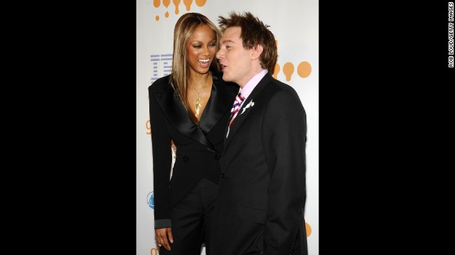 "Tyra Banks and Clay Aiken are apparently a match made in friendship heaven. ""I love her to death,"" <a href='http://www.people.com/people/article/0,,20270908,00.html' target='_blank'>the ""American Idol"" star has said of Banks</a>. ""For some reason we just clicked when we first met."""