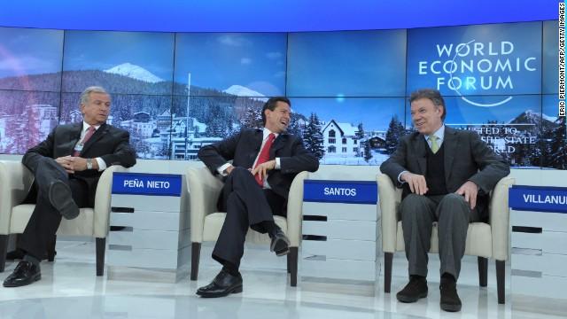 Las voces latinoamericanas, protagonistas en Davos