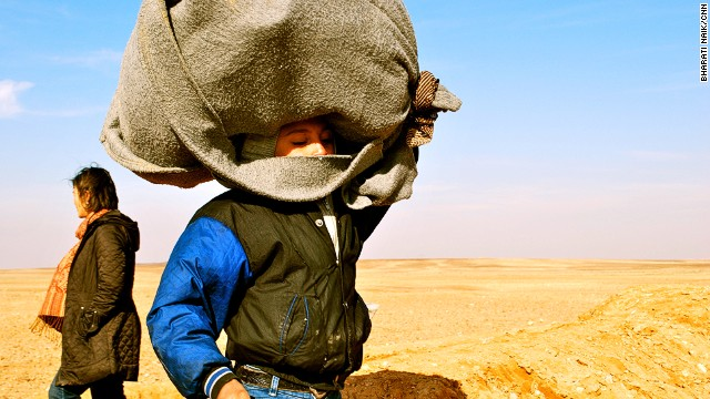 Hundreds of thousands of Syrian refugees -- many of them carrying what little they have after their homes were destroyed -- have streamed into Jordan since the start of the Syrian conflict in 2011.