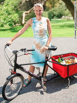 According to EU-funded initiative CycleLogists, over 90% of all grocery trips could be made via bicycle. CycleLogistics is striving to get cargo bikes to replace vehicles throughout European cities.