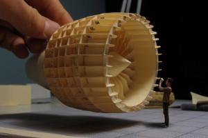 Ventilador de papel