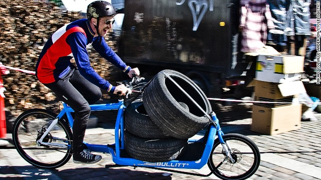 As cargo bikes become more prevalent in European cities, people are routinely relying less on cars to transport heavy and cumbersome items.
