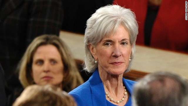 During his State of the Union address, President Barack Obama urged Republicans to stop trying to repeal the Affordable Care Act that Health Secretary Kathleen Sebelius has helped implement.