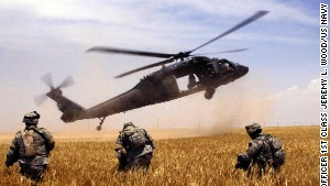 The Firehawk is basically a re-purposed version of the Army\'s Black Hawk combat helicopter.