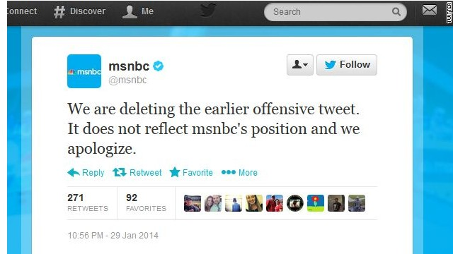 MSNBC apologizes for Cheerios tweet hitting 'right wing'