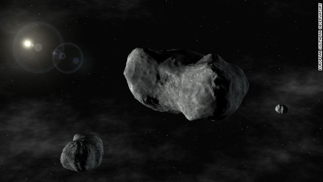 Close Call In Space Tonight: Asteroid Zips By Earth