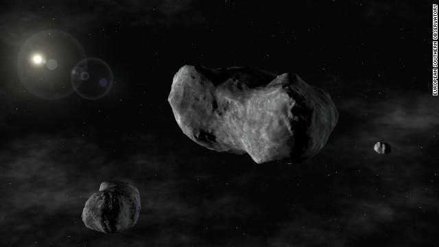 "Un asteroide ""roza"" la Tierra"