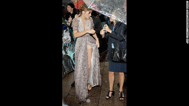 "It's a good thing Emma Watson didn't go commando for the 2009 premiere of ""Harry Potter and the Half-Blood Prince"" in London. The star accidentally showed more than she wanted to when she adjusted her dress in front of photographers. ""This was a small wardrobe malfunction,"" <a href='http://www.youtube.com/watch?v=5Xd7y1WHSOc' target='_blank'>Watson later told David Letterman</a>. ""At least I was wearing underwear."""