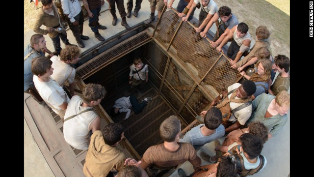 "<strong>""The Maze Runner""</strong> (September 19)<strong> </strong>Yes, another dystopian young adult novel that has been compared to ""The Hunger Games."" ""The Maze Runner"" stars mostly unknown actors grappling with what they are doing in a giant labyrinth and how to escape its clutches."