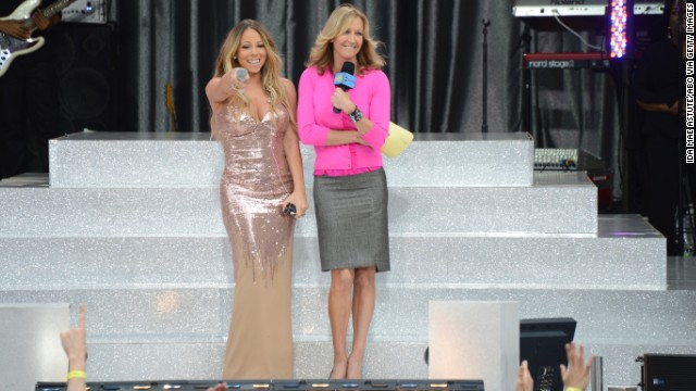 "In 2013, <a href='http://marquee.blogs.cnn.com/2013/05/24/mariah-careys-dress-drama-on-gma/' target='_blank'>Mariah Carey showed ""Good Morning America's"" viewers</a> more of her than they expected. The singer was in the middle of her live performance in Central Park when her floor-length Versace dress decided to call it quits. ""Oh, s*** now the back of my dress just popped,"" Carey said, as she turned around to show the audience that the top half of her dress had split apart. As Carey's team rushed to try to put her back in the sparkling gown, the singer tried to make lemonade from her sartorial lemons. ""Hey, I'll just hold (my breasts) up the whole time, what are you going to do?"""