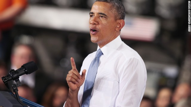 "Obama doubles down on 'Year of Action,"" in remarks to DNC"