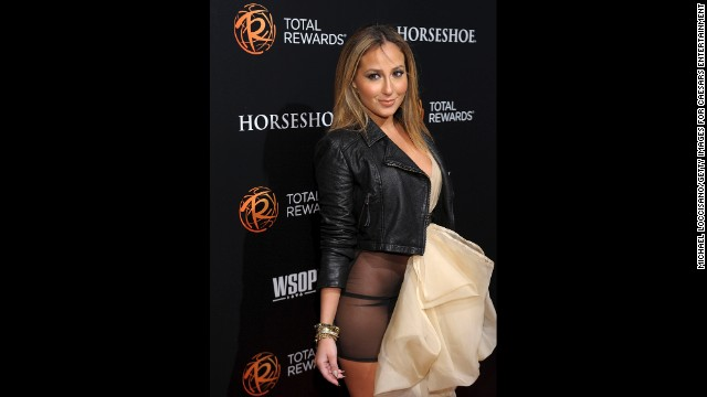 "If there is a lesson to be learned here, it is that sheer is rarely a kind fabric to anyone. Adrienne Bailon tried to go with ""daring"" and wore a sheer dress to a March 2012 event in New York City, but she ended up being simply overexposed. Those who didn't know much about the Cheetah Girl <a href='http://www.gossipcop.com/adrienne-bailon-vagina-photos-wardrobe-malfunction-flash-privates-crotch-shot-pics-pictures/' target='_blank'>suddenly became very well acquainted. </a>"