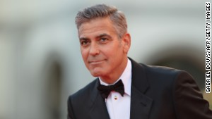George Clooney has tried to rally support for Sony in the midst of a hacking scare.