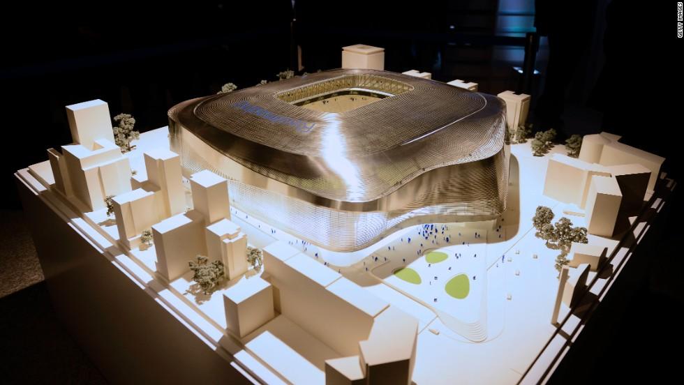 La nueva casa del Real Madrid