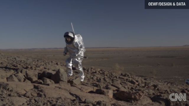 Los trajes para Marte