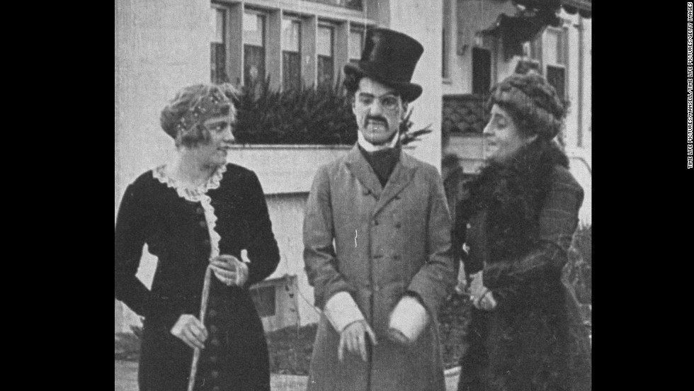 "February 2 marks the centennial of Charlie Chaplin's film debut -- the short ""Making a Living"" in 1914. Virginia Kirtby and Alice Davenport appeared in the film with Chaplin."