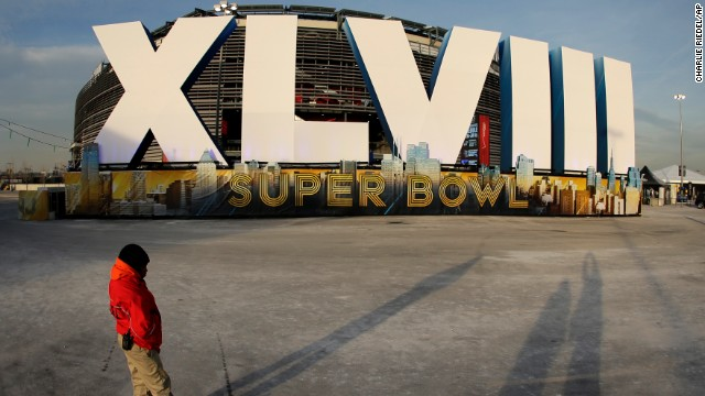 Photos: Buildup to Super Bowl XLVIII