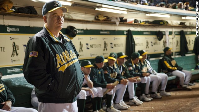 "Hoffman plays manager Art Howe in the 2011 hit ""Moneyball."" The real Art Howe was reportedly not pleased with how he was portrayed in the film but told TMZ Sports he didn't blame Hoffman. ""He was just playing the part he was given,"" Howe said."