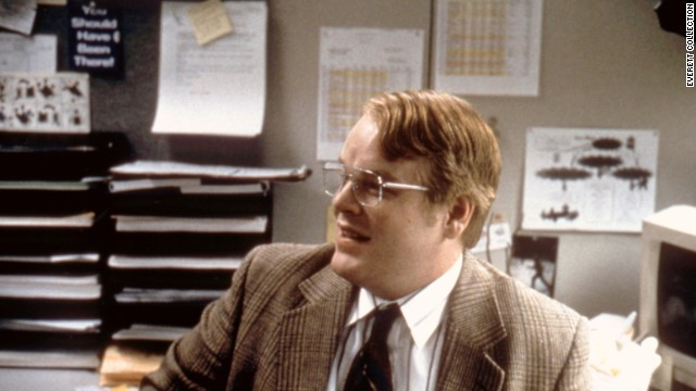 "Hoffman in 1998's comedy-drama ""Happiness."""