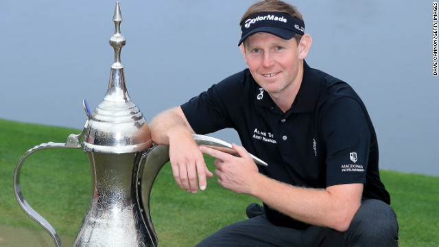Stephen Gallacher became the first man in the history of the Dubai Desert Classic to defend the title.