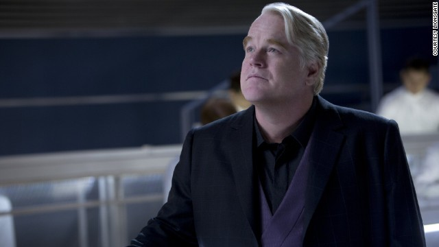 "Philip Seymour Hoffman appears in 2013's ""The Hunger Games: Catching Fire."" Hoffman played the role of Plutarch Heavensbee, the head gamemaker in the film. He was expected to appear in more films of the ""Hunger Games"" franchise, but he was found dead in his Manhattan apartment on February 2. Hoffman died of acute mixed drug intoxication, the New York medical examiner's office said. Click through the gallery for more highlights of his career."