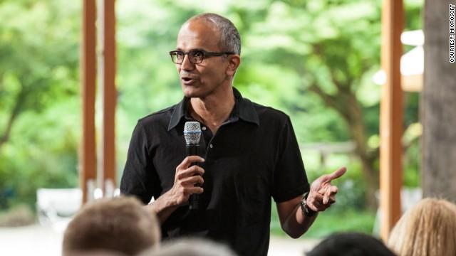 El 'resbalón' del CEO de Microsoft con las mujeres