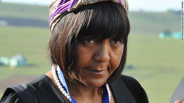 Nelson Mandela's granddaughter, Ndileka Mandela, arrives for the funeral ceremony for Nelson Mandela in Qunu on December 15, 2013. She had already received $300,204 and is bequeathed as many rands as required to set off the obligation.