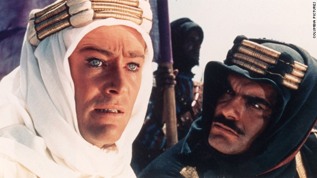 "David Lean created the <a href='http://www.afi.com/10top10/epic.html' target='_blank'>epic of all epics</a> with ""Lawrence of Arabia."" <a href='http://www.cnn.com/2013/12/15/showbiz/peter-otoole-obit/'>Peter O'Toole</a>, left, with Omar Sharif, became a superstar with his portrayal of T.E. Lawrence, the legendary British officer who helped lead the Arab revolt against the Ottoman Empire in World War I. The movie won seven Oscars, including for Lean's direction."