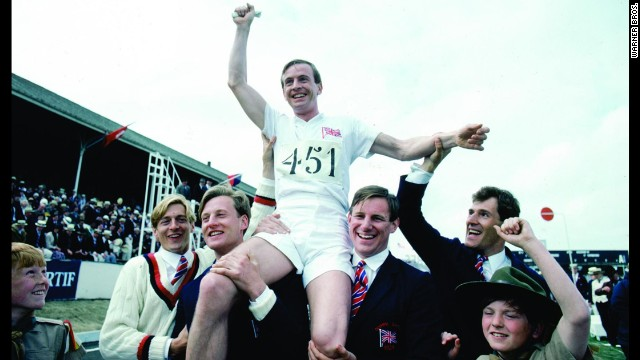 "In another Oscar sleeper, ""Chariots of Fire,"" a small British film about two English runners competing in the 1924 Olympics, beat Warren Beatty's epic film ""Reds"" for best picture. ""Chariots"" won four Oscars, including one for its stirring score by Vangelis. The theme music also hit No. 1 on the pop charts. Beatty wasn't entirely shut out: He picked up the Oscar for best director."