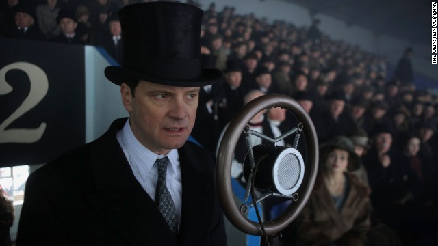 """The King's Speech,"" about England's King George VI and how he overcame his stutter, won four Oscars, including a best actor trophy for star Colin Firth."