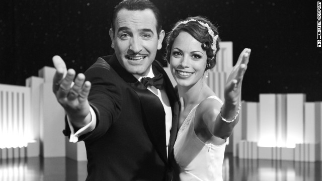 "Jean Dujardin and Bérénice Bejo star in ""The Artist,"" the first (mostly) silent film to win best picture since 1927's ""Wings."" The film, about the fall and rise of a silent film star, won five Oscars."