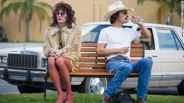 "Jared Leto put in <i>work </i>in order to fully become Rayon, a transsexual diagnosed with AIDS in ""Dallas Buyers Club."" CNN readers thought he should be the one to take home Oscar."